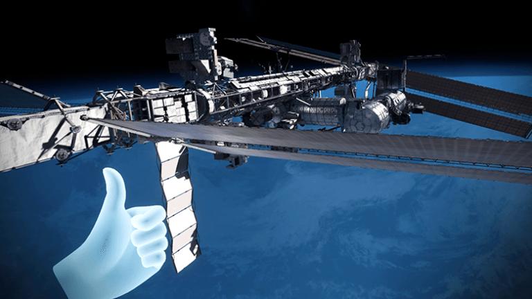 ¿Te gustaría ser parte de la tripulación de la estación espacial internacional? Pues bienvenido.