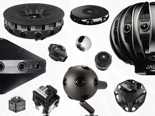 La gran comparación de las cámaras 360/VR  profesionales de 2017