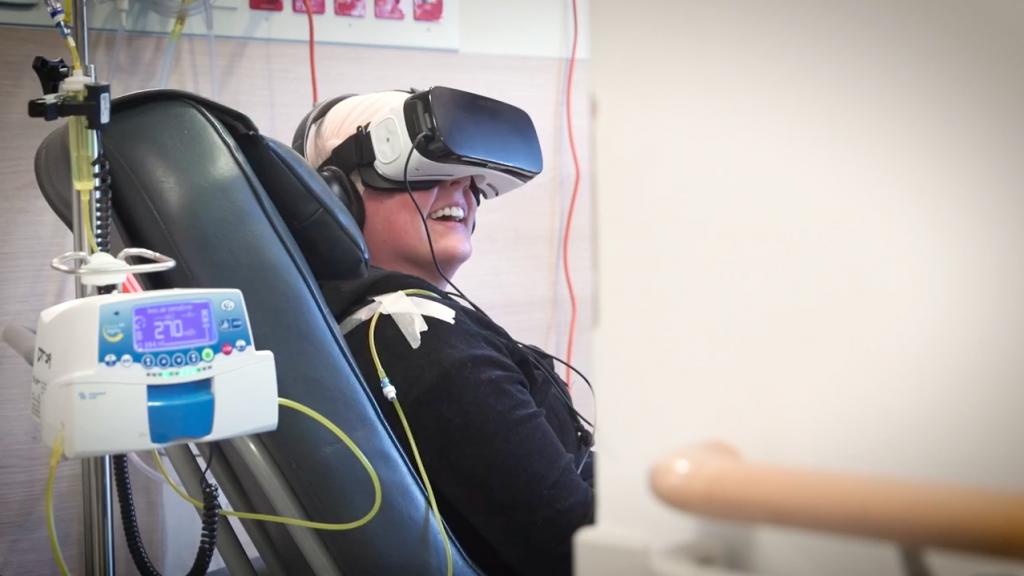 El tratamiento del dolor con Realidad Virtual